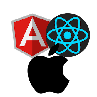 Angular & React & iOS